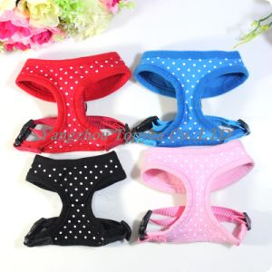 Fabric Dots Dog Harnesses Dog Clothes (YD004-5) pictures & photos