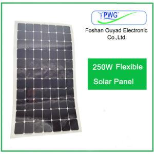 250W Semi Flexible Solar Panel/Solar Module with Sunpower Solar Cells pictures & photos