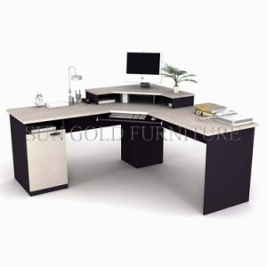 Modern Desk Guangdong Modular Wooden Corner Computer Desk (SZ-OD552) pictures & photos