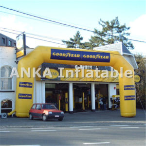 Promotional Inflatable Entrance Arch with Printed Logo pictures & photos