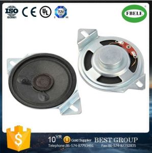 Hot Sell Inner Magnetic 50mm Paper Cone Loudspeaker with Ear pictures & photos