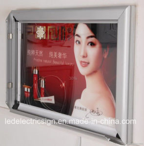 Aluminum Snap Frame Slim LED Light Box pictures & photos