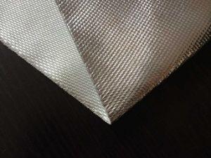 Aluminum Foil Fiberglass Fabric pictures & photos