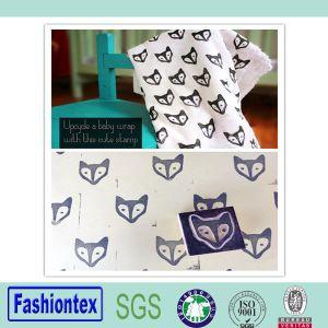 Hot Sale Custom Burp Cloth Muslin Baby Bath Towel Printed Pattern Muslin Towel pictures & photos