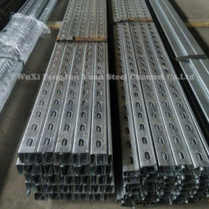 PV Mounting Q235B Section Steel High Quality Steel Channel