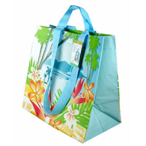 Reusable Plastic Shopping Bag, with Custom Design (14102101 ...