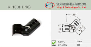 45 Degree Fix Metal Joint for Flow Rack System pictures & photos