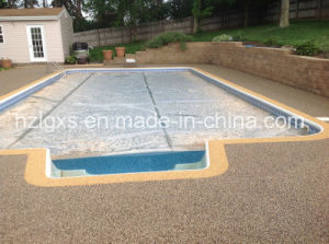 ISO9001 Approvaled EPDM Granules Rubber Floor for Swimming Pool pictures & photos
