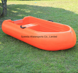 2 Persons Light Weight Small Fishing Boat PE Plastic Boat pictures & photos
