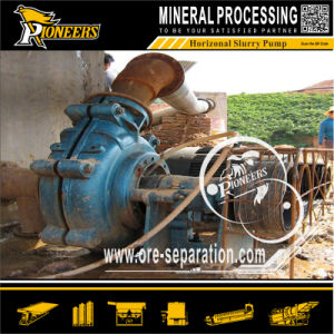 Highly Abrasive Mining Horizontal Centrifugal Stuffing Seal Slurry Pumps