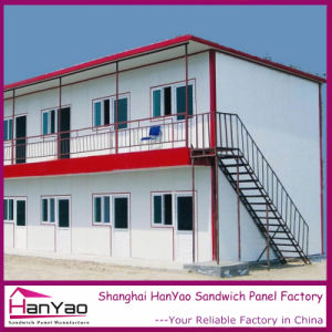 High Quality Sandwich Panel Steel Structure Dormitory Prefab House pictures & photos