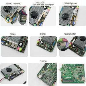 4pin-ATX/DC-12V Motherboard for High-End POS Onboard DDR3 2/4/8g VGA WiFi (HM67) pictures & photos