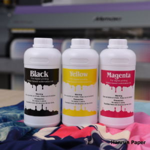 Neon Disperse Dye Sublimation Ink Yellow & Magenta Digital Fluorescent Ink for Textile Printing on Epson/Roland/Mimaki/Mutoh/Richo pictures & photos
