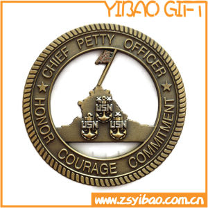 Metal Souvenir Coin with Rope Edge (YB-c-055) pictures & photos