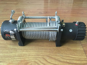 4X4 off-Road Electric Winch for Truck Fast Line Speed CE pictures & photos