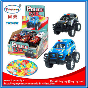 2016 Most Popular Items Police Pull Back Toy Candy