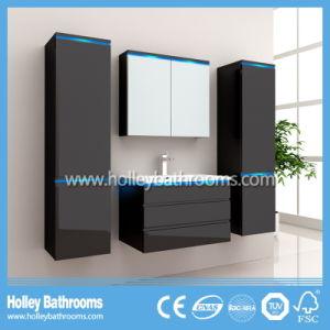 Hot LED Light Touch Switch High-Gloss Paint Wash Basin Bathroom Accessories (B805D) pictures & photos