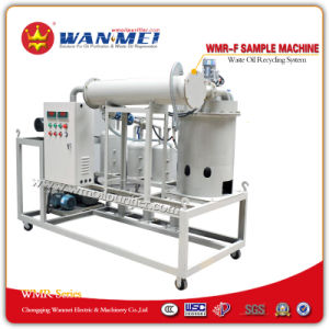 Oil Recycling Plant by Vacuum Distillation - Wmr-F Series