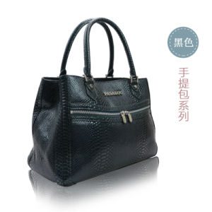 Europian Crocodile Grain Leather for Womens Collections of Handbags pictures & photos