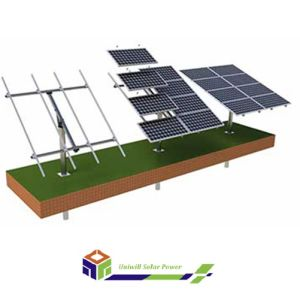 10-50 Degree Solar Pole Mounting System for Adjustable Ground Roof pictures & photos
