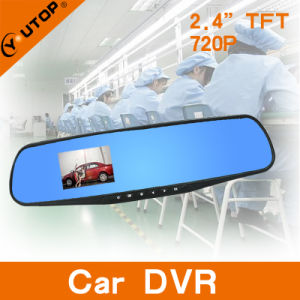 2.4inch TFT 120 Degree 1280X720p Rear View Car Black Box for Car DVR pictures & photos