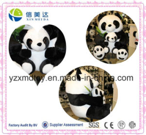 Super Lovely Panda Mum and Panda Child Plush Soft Toy pictures & photos
