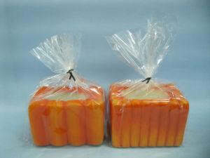 Pumpkin Candlestick Shape Ceramic Crafts (LOE2360-9z) pictures & photos