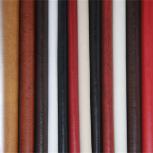 China High Abrasion-Resistance Synthetic PVC Furniture Leather Manufacturer pictures & photos