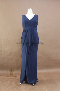 Wholesale Real Photo Chiffon Long Bridesmaid Dresses with Cheap Price pictures & photos
