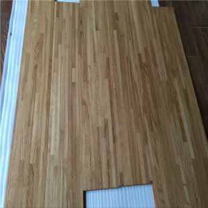 UV Lacquered Nine Strips Smooth Natural Multilayer Oak Wood Floorings pictures & photos