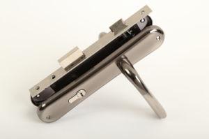 Aluminum Handle Door Handle Lock (DL-010) pictures & photos