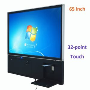 "Good Quality 32-Point OEM 55"", 65"", 70"", 84"" Bluetooth IR Touch Screen Monitor Frame From China"