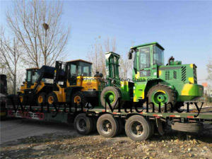China Made 4m Height Rough Terrain Forklift for Forestry pictures & photos