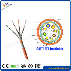 Fluke Test Passed FTP Cat 7 LAN Cable pictures & photos
