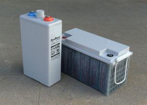Solar System Tublar Plate Gel Storage Battery (LFPV12200) pictures & photos