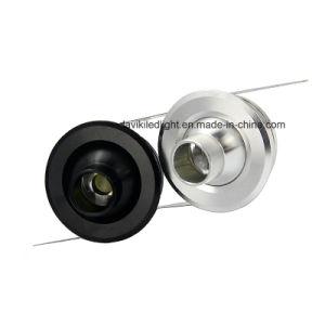 1W 3W Recessed COB Mini LED Spot Light for Cabinet, Showcase, Jewelry Shop