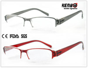 Hot Sale Half Frame Reading Glasses, CE, FDA, Kr5155 pictures & photos