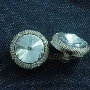 Fancy Rhinestone Crystal Button for Ladies Jeans pictures & photos