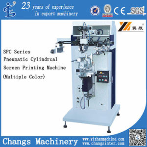 Spc Series Pneumatic Cylindrical Screen Printing Machine (Multiple Color) pictures & photos