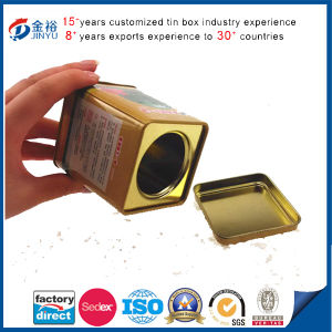 Hot Sale Metal Seed Packaging Box pictures & photos