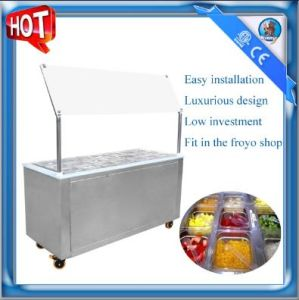 Frozen Yogurt Topping Machine/ Topping Bar SD-203A pictures & photos