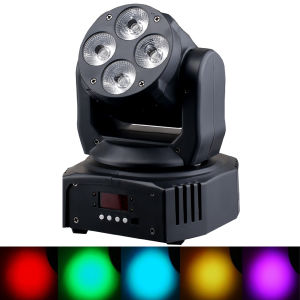 Remote Control 4X15W 6in1 Wash LED Moving Head Light