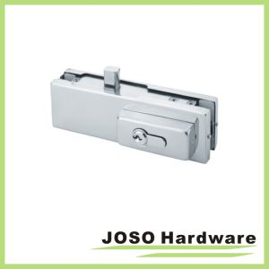 Dorma Glass Door Complete Bottom Lock Patch Fitting Including Cylinder pictures & photos