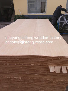 High Quality 1220*2440mm Red Beech Veneer MDF pictures & photos