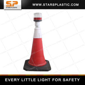 Ab-156j Solar Powered Portable Traffic Warning Light with Good Quality pictures & photos