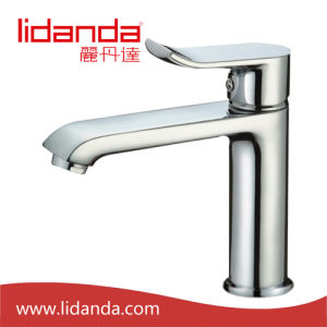 Contemporary Brass Single Handle Lavatory Faucet with Chrome pictures & photos
