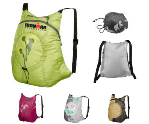 Ultra-Light Nylon Pocket Bag Folding Backpack Bicycle (BSP11599) pictures & photos