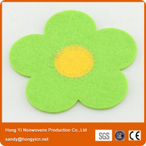 Nonwoven Fabric Laser Cutting Coaster pictures & photos