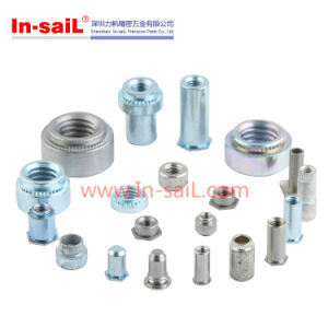 Carbon Stainless Steel Hex Self Lock Nut Self Clinching Flush Nut pictures & photos