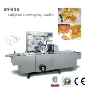 Bt-250 Overwrapping Machine with Gold Tear Tape pictures & photos
